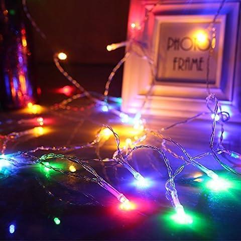 100 LEDs String Lights, 33 ft, Waterproof Decorative Fairy Lights