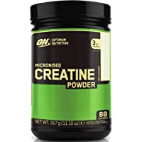 Optimum Nutrition Micronised Creatine Monohydrate, Créatine Monohydrate Micronisé en Poudre, Non Aromatisé, 88 Portions…