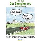 Skorpion 2017: Sternzeichen-Cartoonkalender