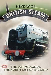 Heyday of British Steam - East Midlands & NE England DVD