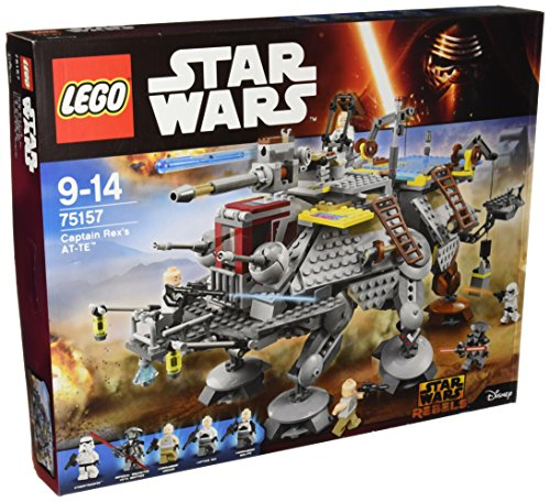 LEGO - 75157 - Star Wars - Jeu de Construction - L'AT-TE du Capitaine Rex