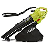 Garden Gear 3000W 3 in 1 Electric Leaf Blower, Vaccum & Shredder