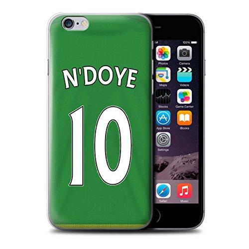 Officiel Sunderland AFC Coque / Etui pour Apple iPhone 6S / Brown Design / SAFC Maillot Extérieur 15/16 Collection N'Doye