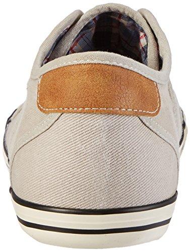 Mustang  Schnürhalbschuh, chaussures à lacets homme Gris (22 Hellgrau)