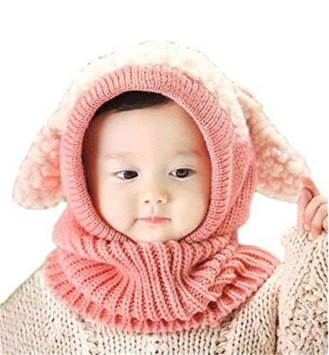 Baby Kleinkinder Neugeborenen Hand gestrickte häkeln Hut Kostüm Baby Fotografie Rosa