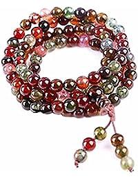 Pulsera charms serpiente Joya piedra natural Turmalina Mujer Multicolor Naude