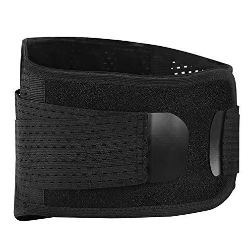 AOSTFOX Rückenstützgürtel - Lendenwirbelstützgürtel, Linderung von Rückenschmerzen bei Bandscheibenvorfall, Ischias und Skoliose bei Männern und Frauen,L