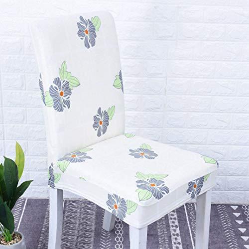 MAIAMY Abnehmbare Spandex Stuhlhussen für Hochzeit Home Decor Sitzbezug Stretch Chair Seat Protector Schonbezüge