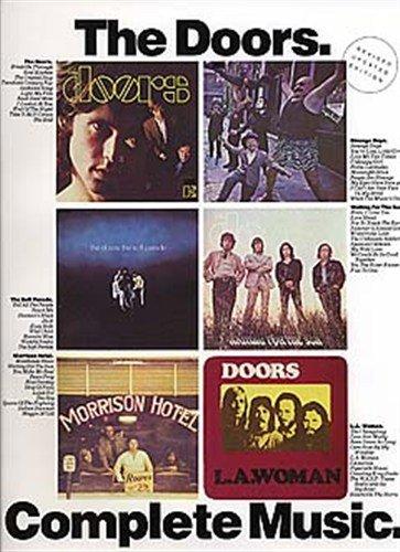 the-doors-complete-music-partitions-pour-piano-chant-et-guitaresymboles-daccords