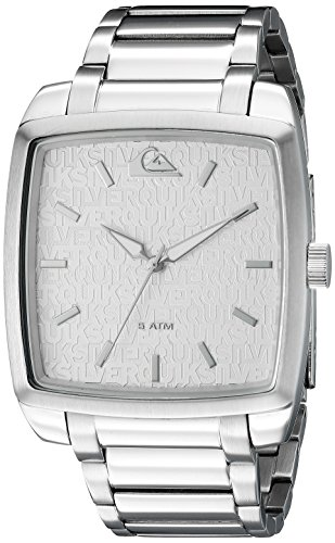 quiksilver-the-quad-mens-quartz-watch-with-silver-dial-analogue-display-and-silver-stainless-steel-s