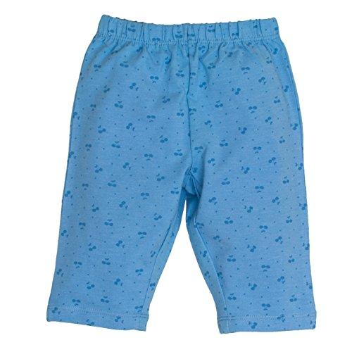 SALT AND PEPPER Baby-Mädchen Shorts B Capri Juicy Allover Blau (Indigo Blue Melange 407), 86