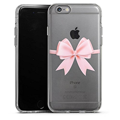 Apple iPhone 5 Silikon Hülle Case Schutzhülle Rosa Schleife ohne Hintergrund geschenkschleife Silikon Case transparent
