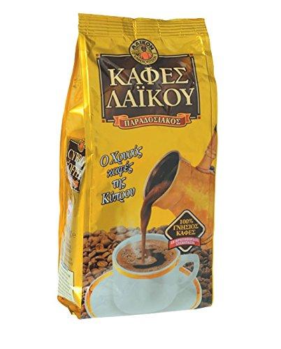 Zypern griechischen traditionellen laikou Gold–Top Qualität Kaffee 500g (Gold Demitasse Cup)