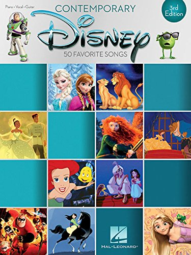 Contemporary Disney: 3rd Edition (Piano-vocal-guitar)