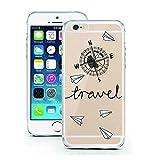coque licaso pour iPhone 7 Plus modèle Travel Voyage Vacances en TPU Protection élégante pour iPhone 7 Plus Apple en silicone ultra-mince Protégez votre téléphone avec style