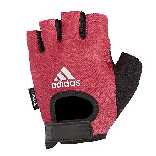 Adidas adgb-13215 - guanti donna, rosa, large