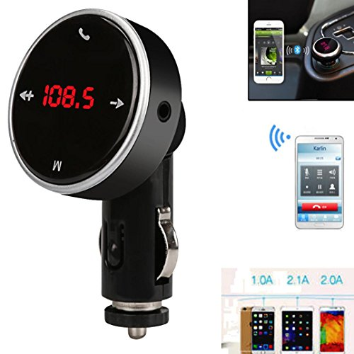 Preisvergleich Produktbild Omiky® Mode 2017 Wireless Bluetooth LCD MP3 Player Auto Kit SD MMC USB FM Transmitter Modulator