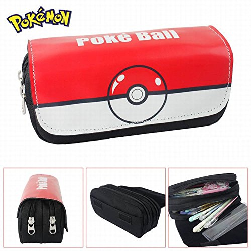 Estuches Material escolar Portatodo doble Pokemon Pokeball