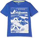 NAME IT Jungen T-Shirt Nitzole SS Top NMT, Blau (Nautical Blue), 122 (Herstellergröße: 122-128)