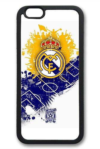 Coque silicone BUMPER souple IPHONE 4/4s - Real Madrid football la liga CASE tpu DESIGN + Film de protection INCLUS 5