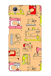 ZAPCASE PRINTED BACK COVER FOR VIVO Y31L Multicolor