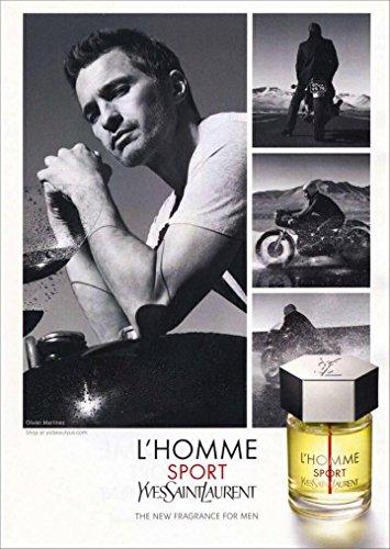 Yves Saint Laurent L'Homme Sport Eau de Toilette for Men 100 ml