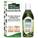 Indus Valley Bio Organic 100% Natural Growout Oil For Hairs (100ml)