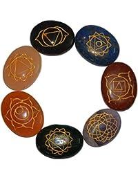 Aatm Reiki Energized Seven Chakra Healing Stone (Stone For Healing)