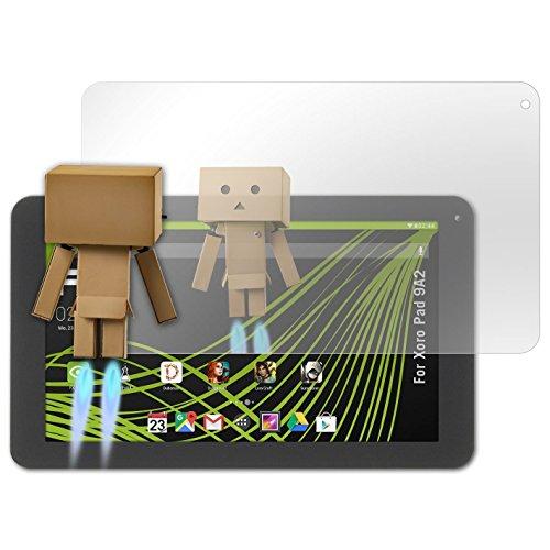 atFolix Bildschirmfolie kompatibel mit Xoro Pad 9A2 Spiegelfolie, Spiegeleffekt FX Schutzfolie