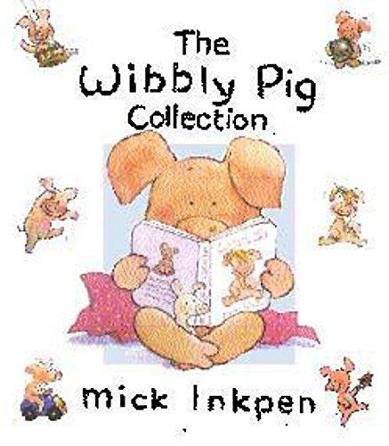 Wibbly Pig Blue Gift Box por Mick Inkpen