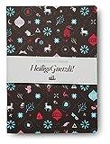 Heiligs Guetzli: Illustrierte Rezeptesammlung mit Weihnachtsplätzchen