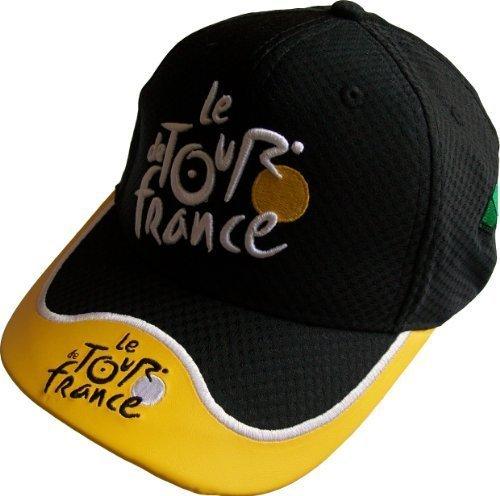 Casquette - Collection officielle - Tour de France Cyclisme - Velo - Maillot Jaune - Taille adulte et ado