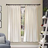Deco Window 2 Piece Pleated Curtain Gaur...