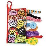 Baby Stoffbuch Stoffspielzeug lustige Tiere Buch Baby Frühherziehung und Entwicklung