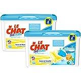 Le Chat Sensitive Lessive Liquide en Dose 20 Doses / 20 Lavages - Lot de 2