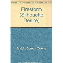 Firestorm (Silhouette Desire) by Doreen Owens Malek (1986-06-01)