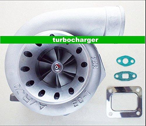 gowe turbocompressore per T66-7GT35gt3584T4t04z to4r t04s a/r 0,70Anti Surge a/r .96T4flangia 7,6cm V della band Olio gekuehlt 400-500HP