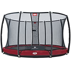 Trampoline BERG Elite+ InGround Red 380 + Safety Net T-series 380