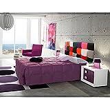 HOGARES CON ESTILO - Cabecero de polipiel modelo BORA BORA para cama de 90, (Varias medidas disponibles)