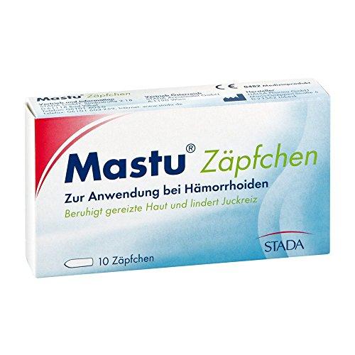 fakut Mastu Zäpfchen, 10 St.