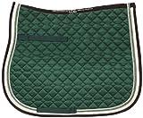 USG Baumwollschabracke, grün/ecru/braun, VS, Pony