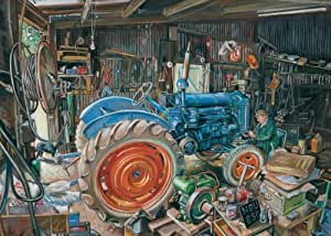 Gibsons Tractor Trouble Jigsaw Puzzle (1000 Pieces)