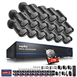 Best Night Owl Security Wireless Security Cameras - Sannce 16-Channel HD 1080N/ 720P Surveillance DVR w/2TB Review
