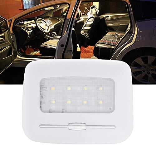 BOGAO LED Car Dome Lights, Luci per fari posteriori, Luci per auto, Luci targa, Luci notturne, Luci per porte, Luminosità regolabile - Bianco caldo, 3000K