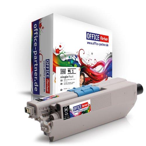 Preisvergleich Produktbild Kompatibler Toner zu OKI C301 / C321 BK (schwarz) für OKI C301DN C321DN MC332DN MC342DN MC342DNW