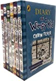 Jeff Kinney Diary of a Wimpy Kid Collection 6 Books Set (Diary of a Wimpy Kid, Rodrick Rules, The Last Straw, Dog Days, The Ugly Truth, Cabin Fever)