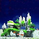 Topker Resina Fish Tank Decorativas Rockery Aerogeneradores Acuario Fish Bowl Decorativas