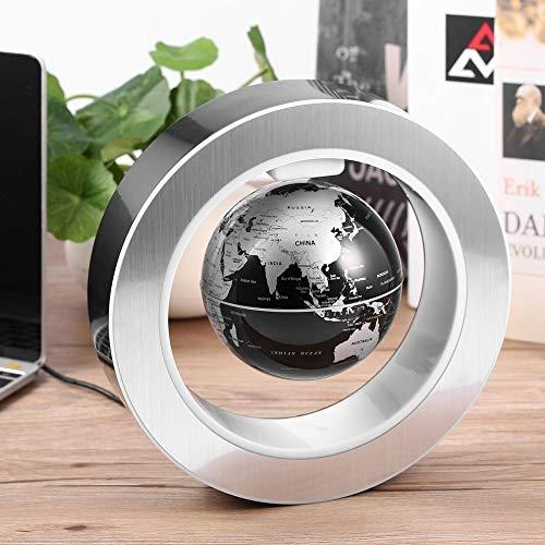 xinrongqu Geographie-Weltkugel-magnetischer schwimmender Globus schwebender rotierender Weltkarte-Schule-Bürobedarf Hauptdekor