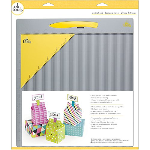 EK Success 12x12 EK Tools Scoring Board Falzbrett, Mehrfarbig, 41.91 x 35.56 x 1.77 cm