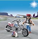 Playmobil 5280 Biker with Chopper